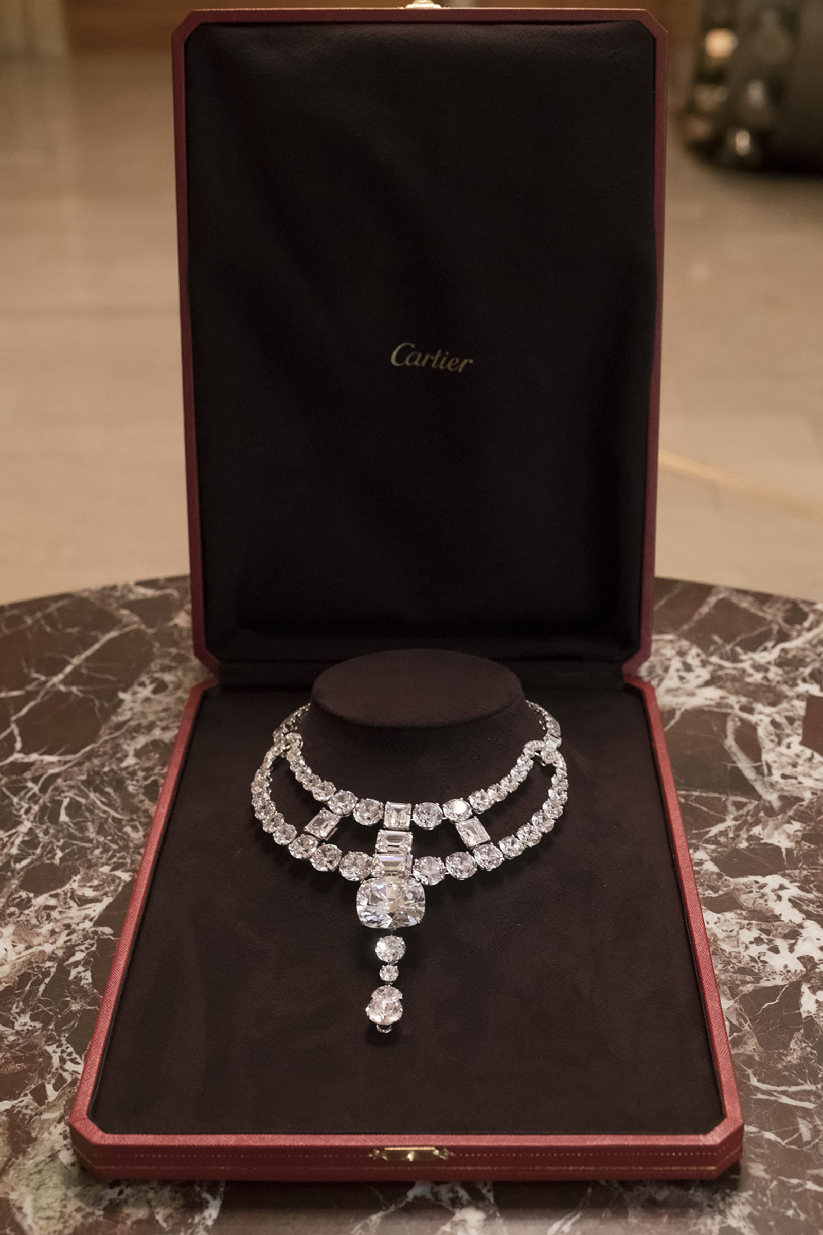 On the rocks: Cartier's Jeanne Toussaint necklace that took centre stage in Ocean's 8