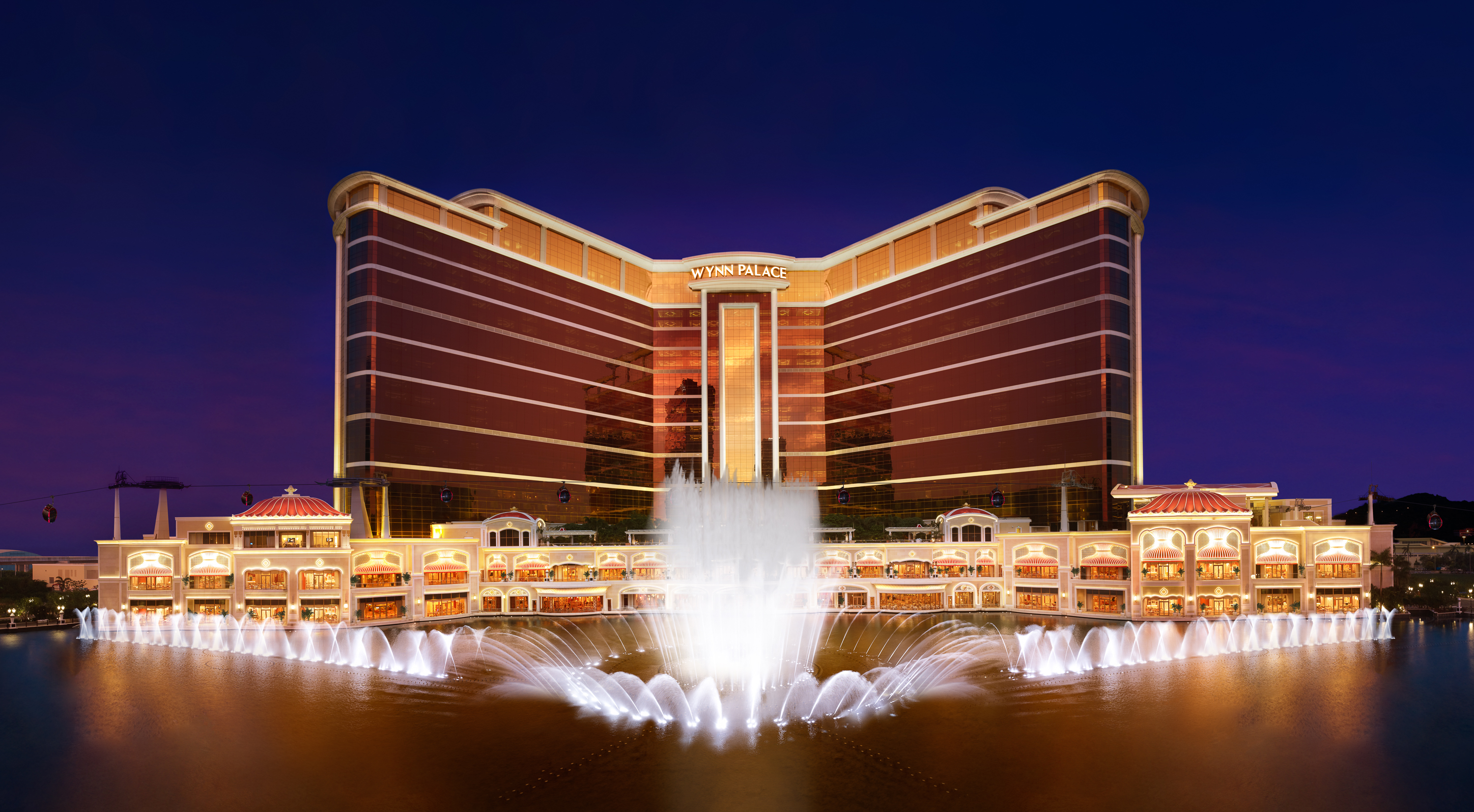 Stay in the lap of luxury in Macau at Wynn Palace