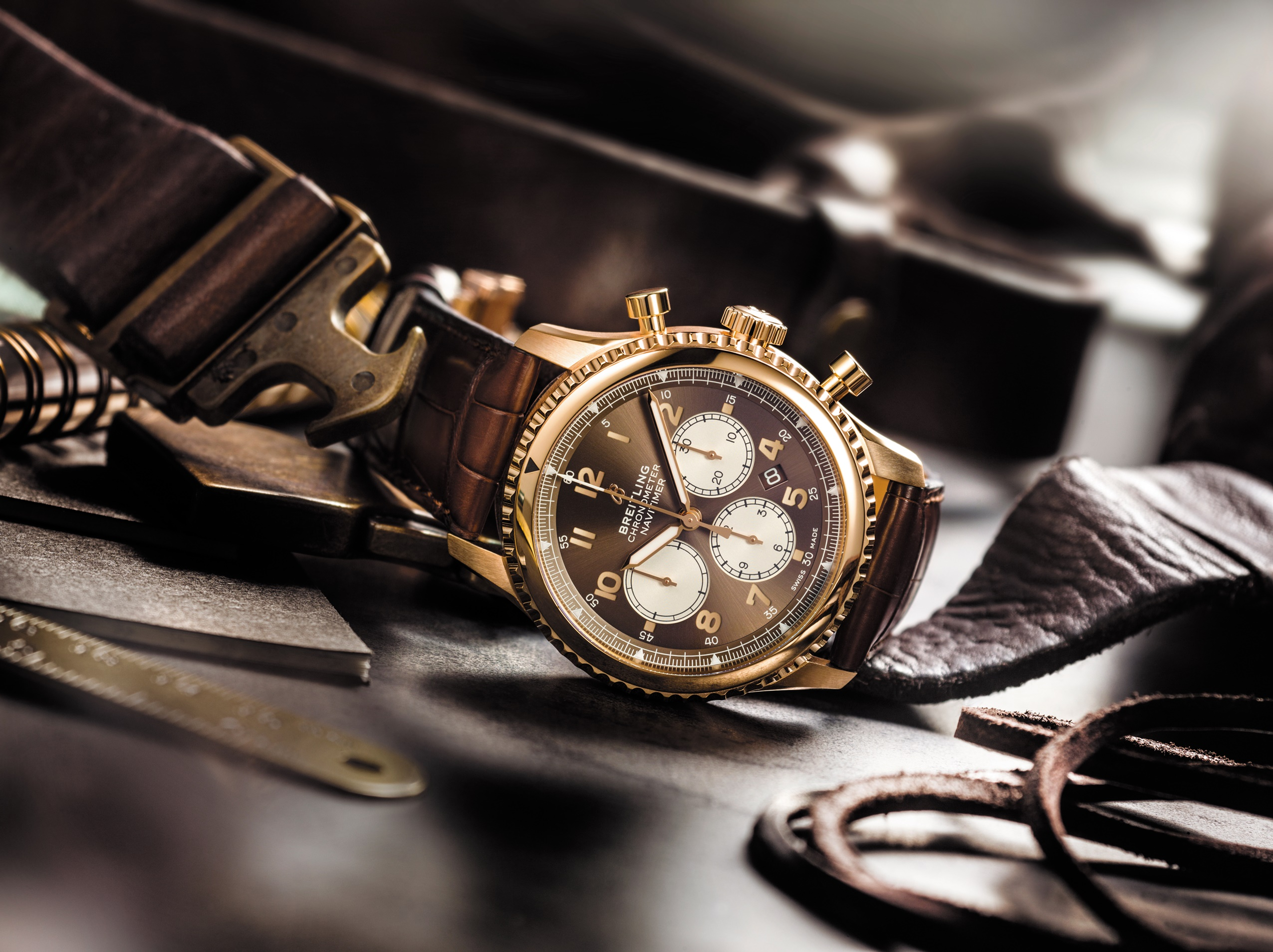 Breitling's Navitimer 8 tribute collection has finally arrived