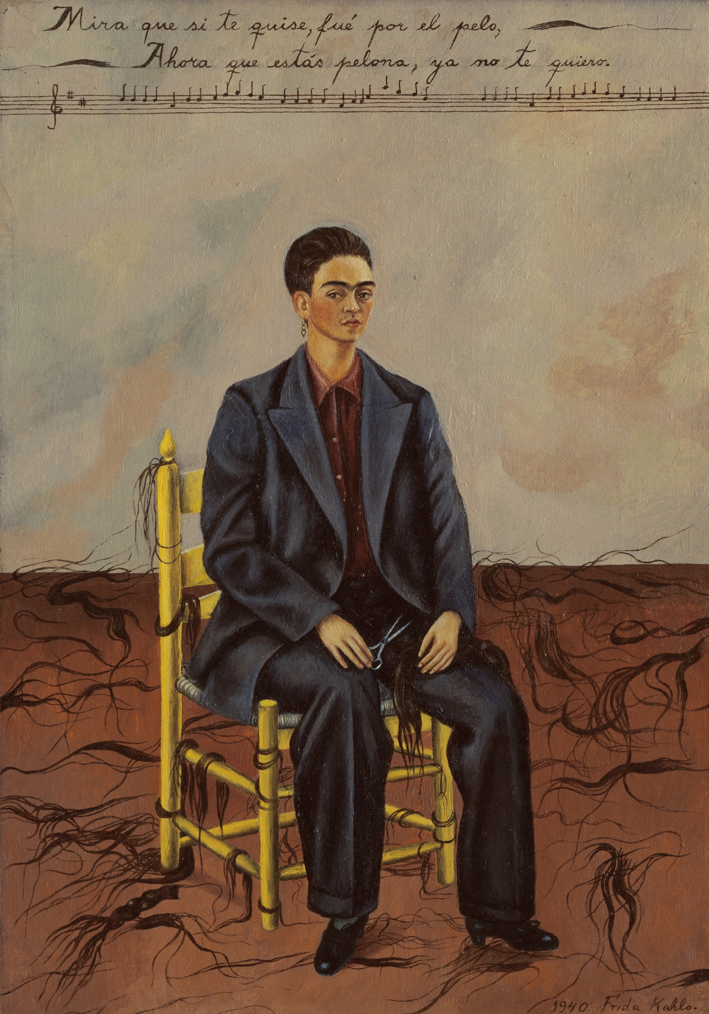 Self-Portrait with Cropped Hair, 1940