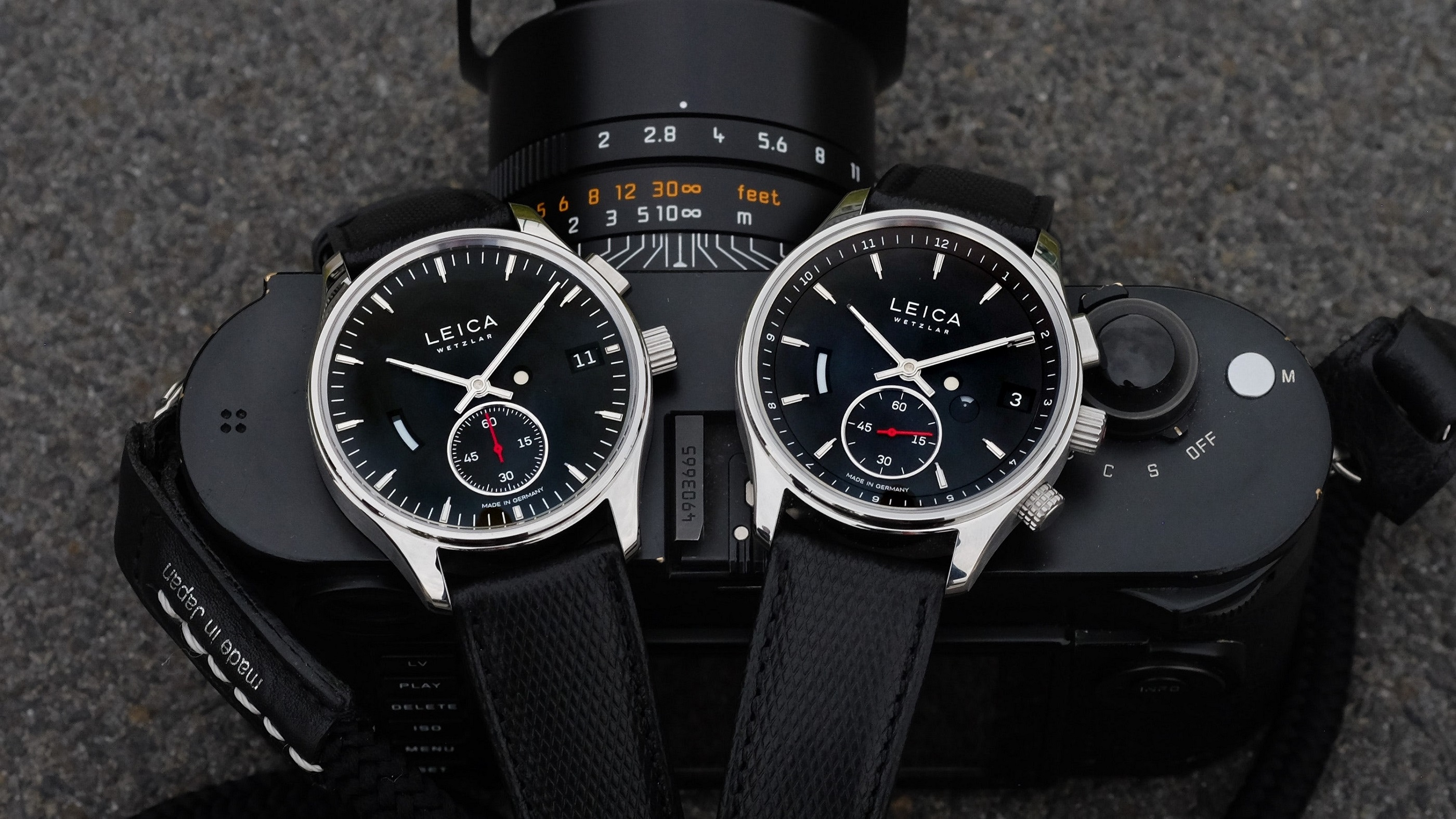 Leica ventures into the unknown with its own timepieces