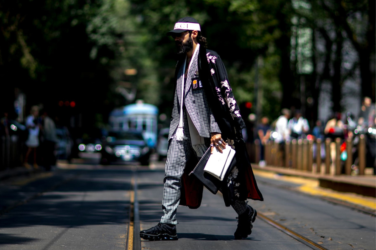 Standout styles to copy from the streets of Men's Fashion Week SS19