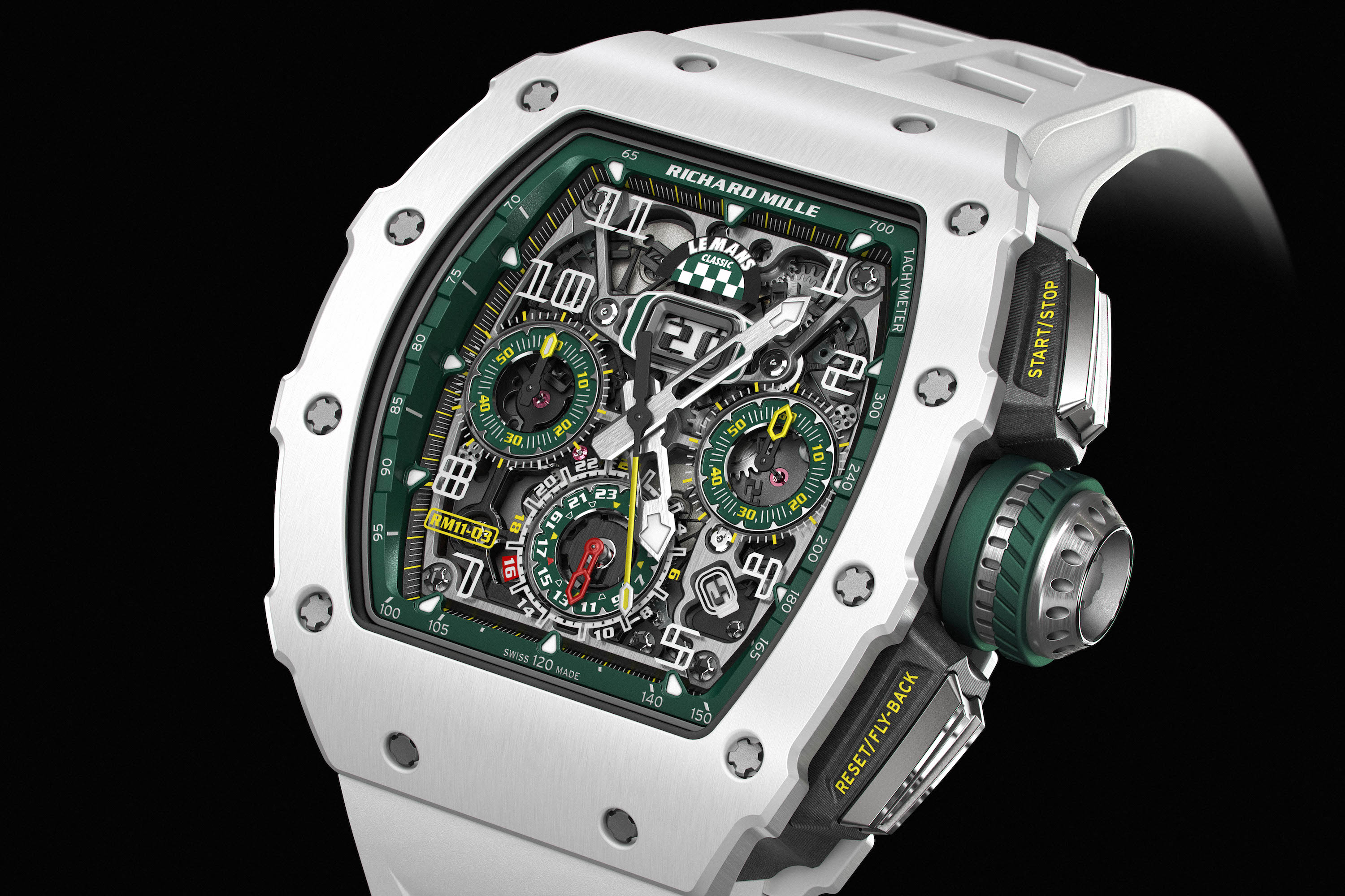 Richard Mille celebrates the spirit of Le Mans with the RM 11-03 LMC