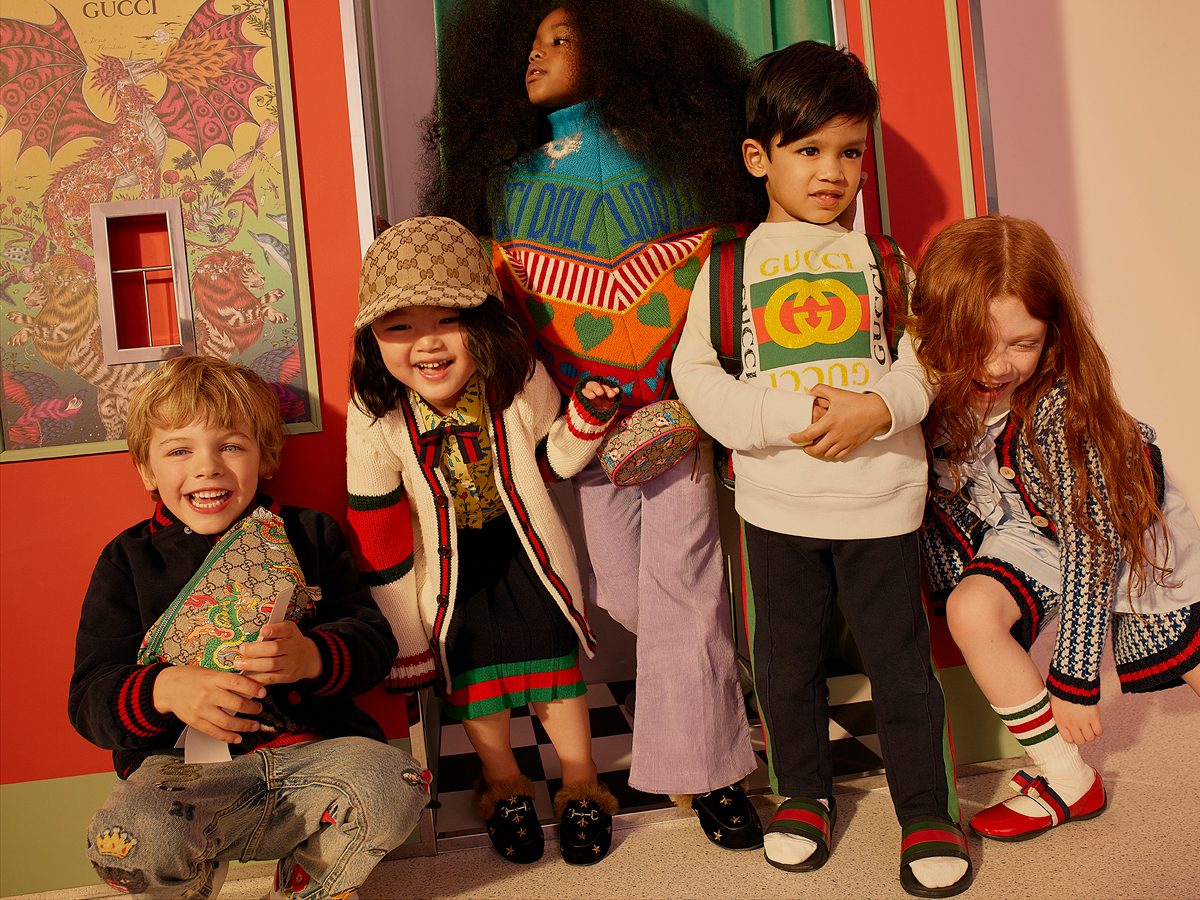 Net-a-Porter dabbles in kidswear with a special Gucci pop-up