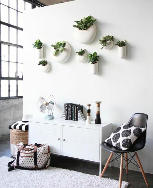 Vertical wall art