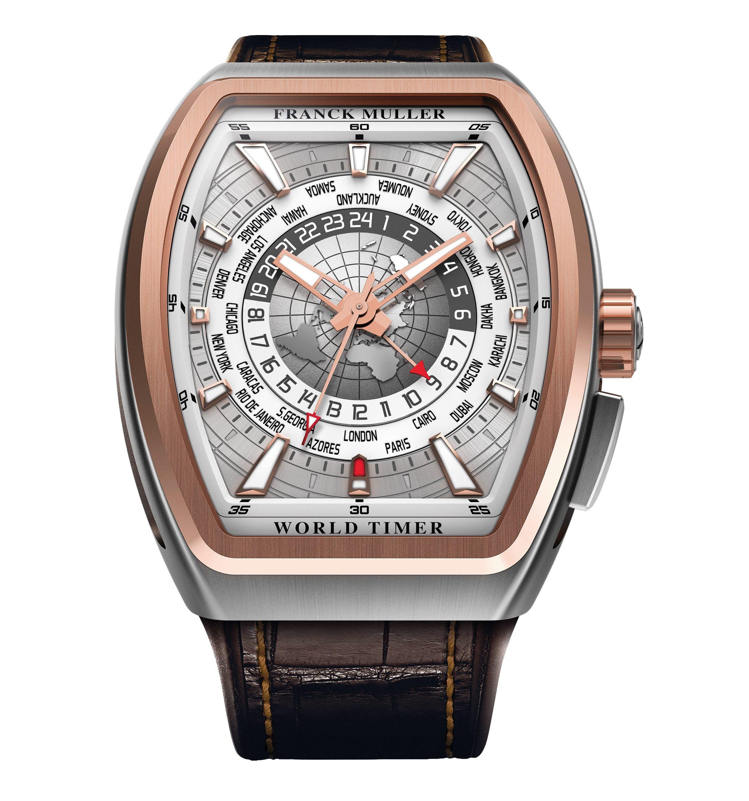 Franck Muller Vanguard World Timer GMT