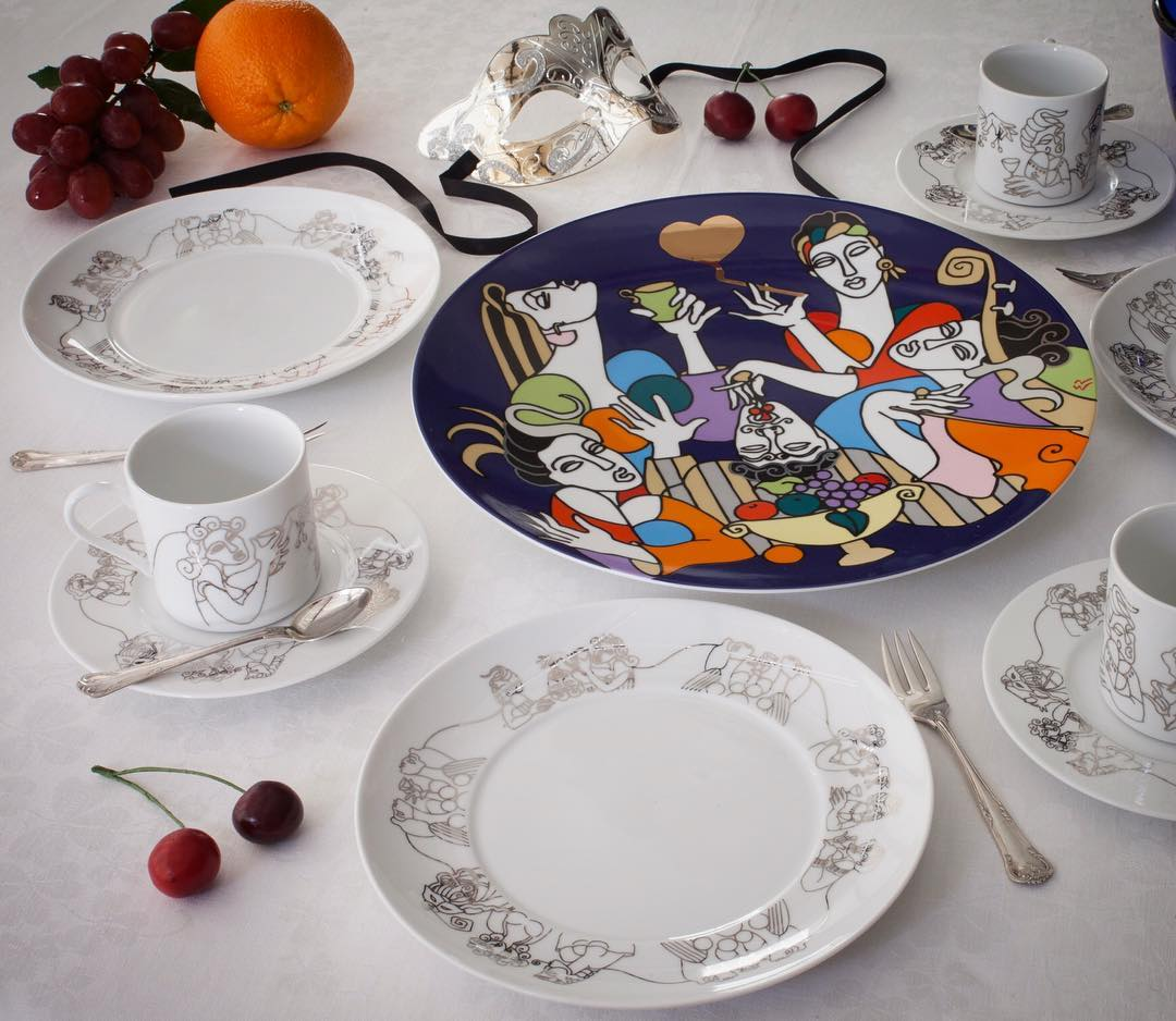 8 unique designer plates for your dining table