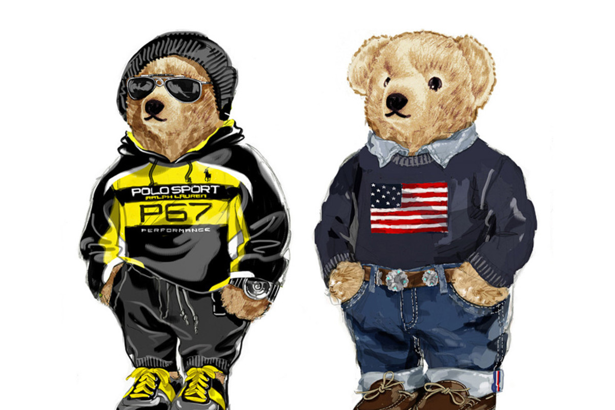 The history behind the iconic Ralph Lauren's Polo Bear
