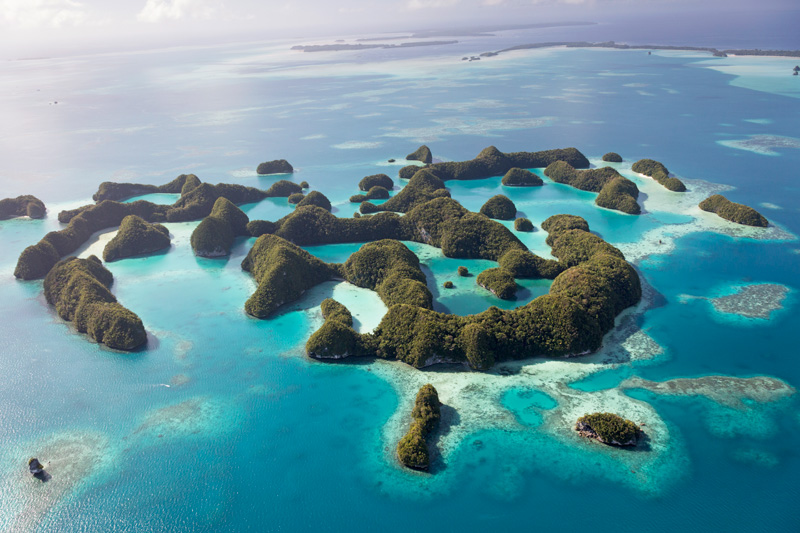 Check out: Palau, the forgotten archipelago southwest of the Philippines