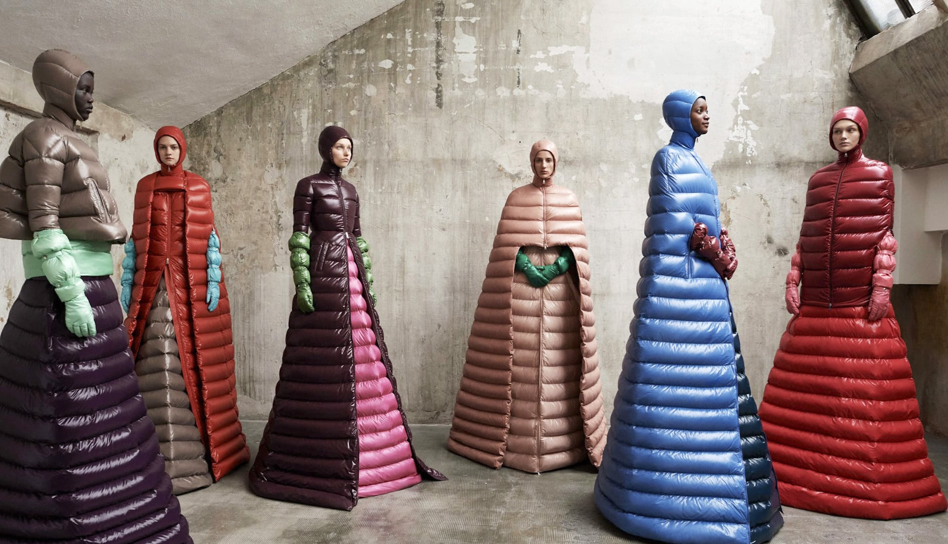 Pierpaolo Piccioli's collection for Moncler Genius weaves a medieval dream