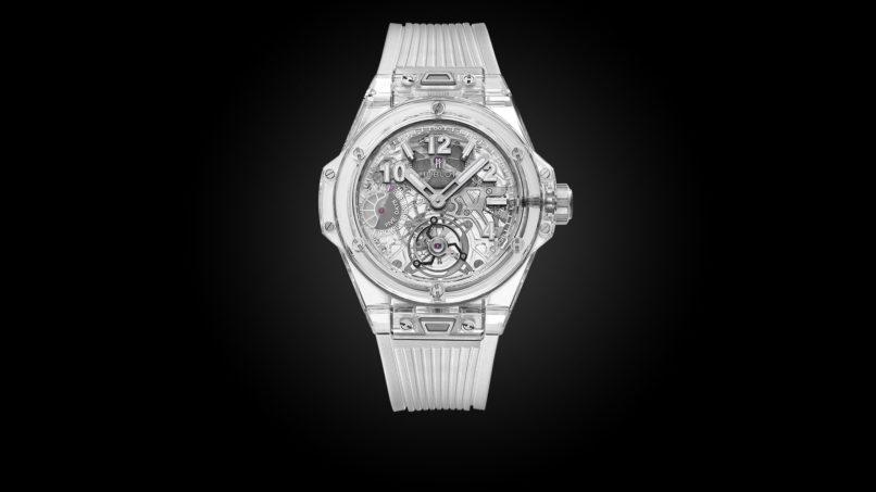 Transparent watches: Hublot
