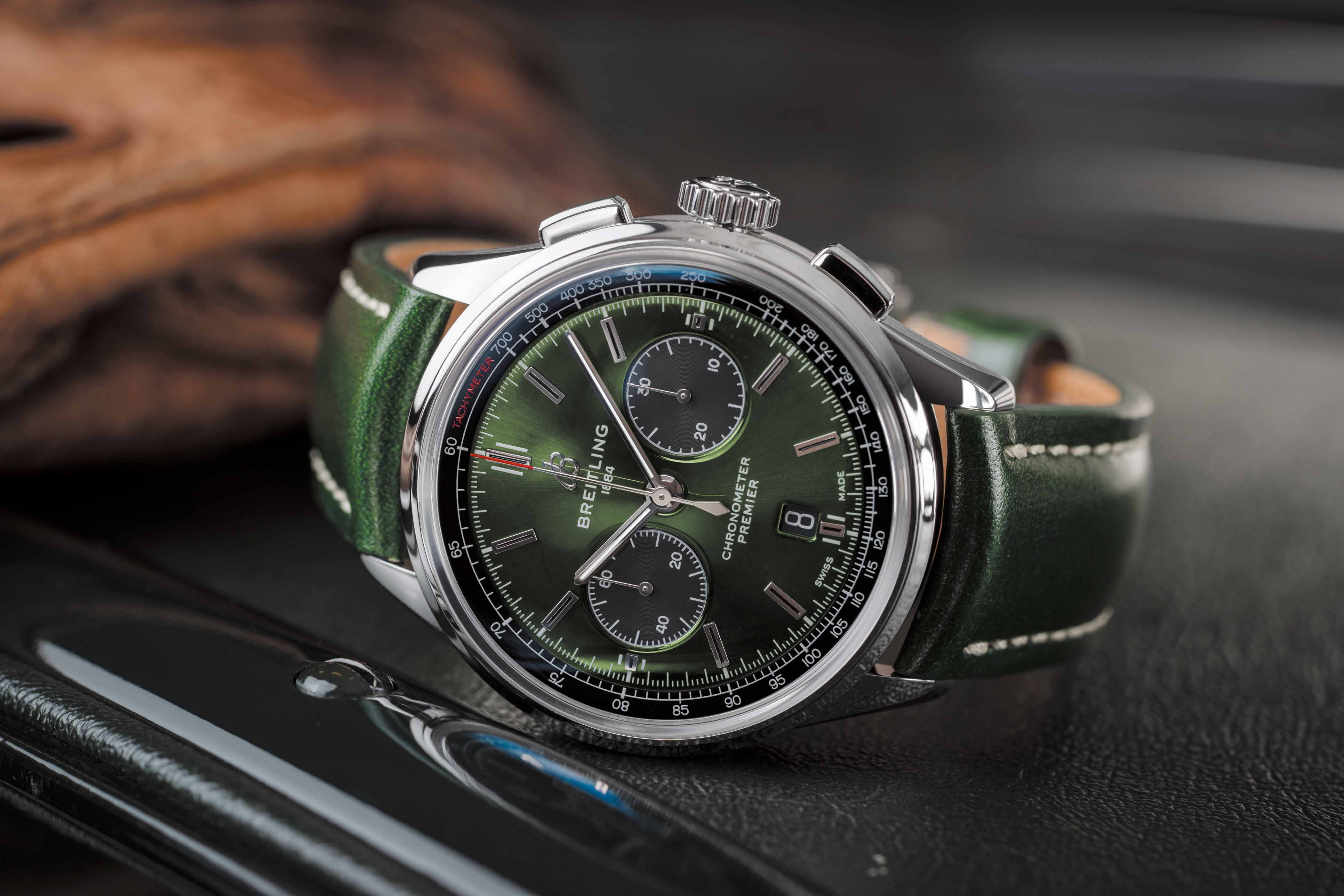 Breitling marks Bentley's centenary in 2019 with the Premier B01 Chronograph 42