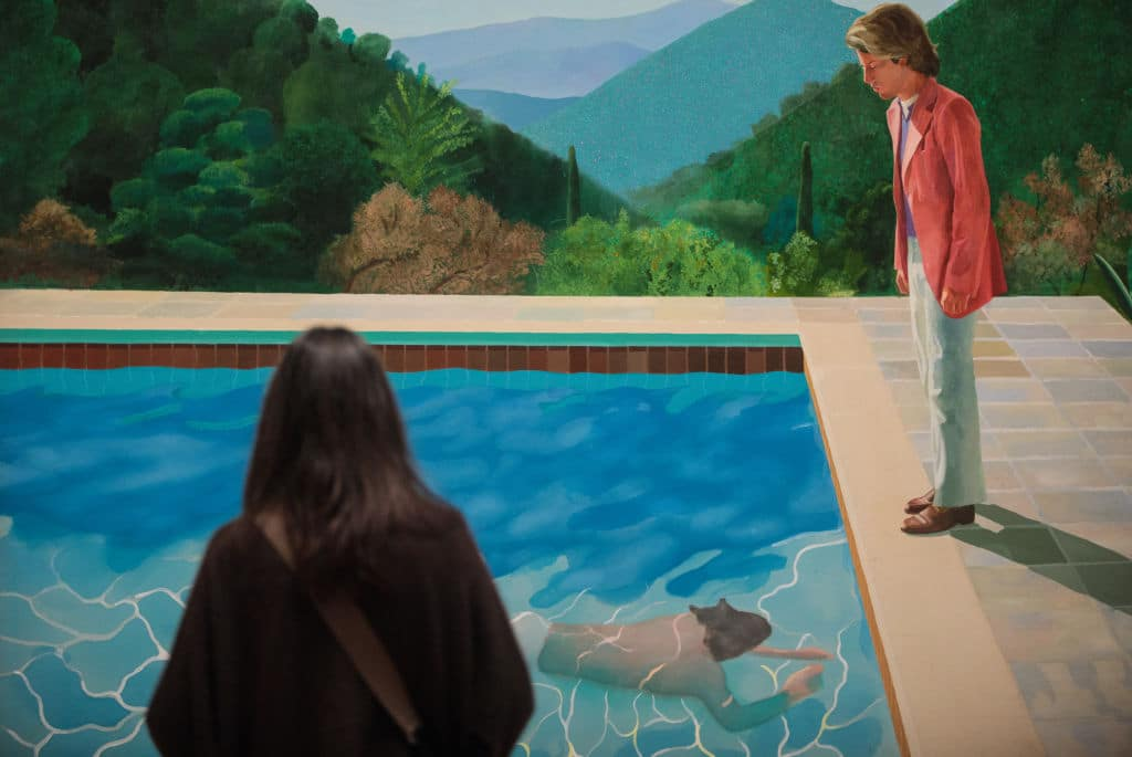 The tale of David Hockney & his record-shattering 'Portrait of an Artist'