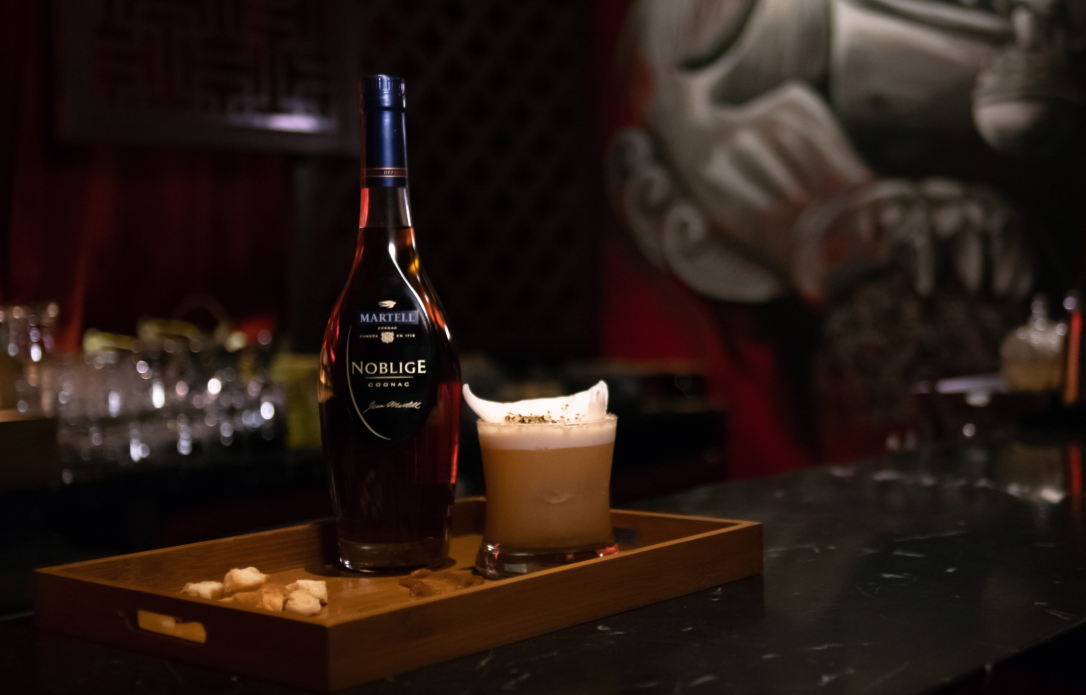 Unlock the Bars: Manchu Bar explores the flavours of roti bakar with Martell Noblige