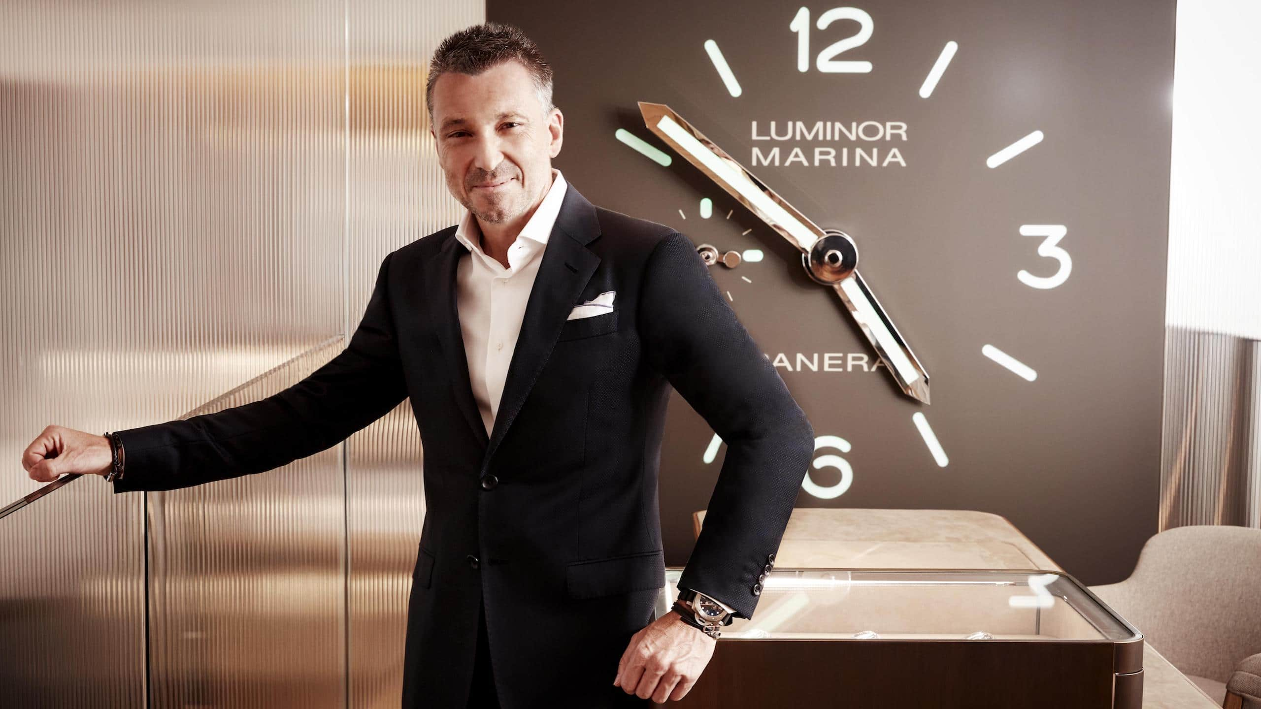 """Q&A: Panerai's new CEO Jean-Marc Pontroué on the definition of """"luxury"""" and why long-term planning is overrated"""