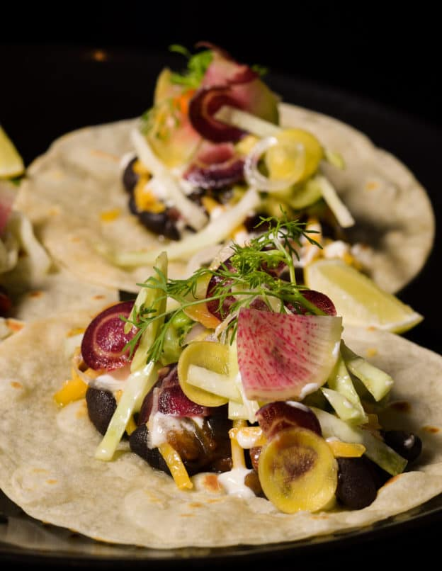 Mexican Bean Tacos at The Table