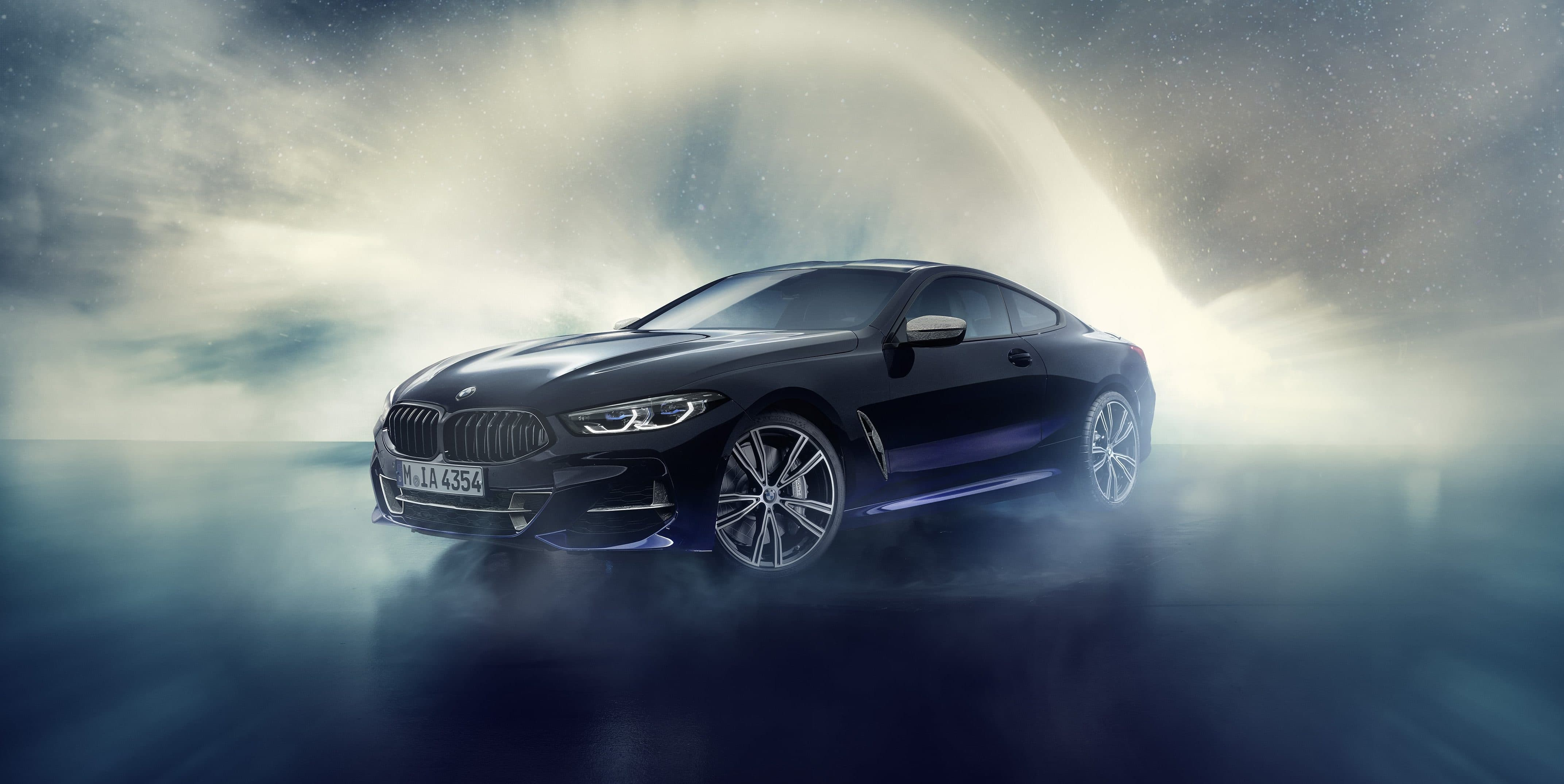 Cosmic Treatment: This BMW 8 Series Coupé has actual meteorite fragments on its dashboard