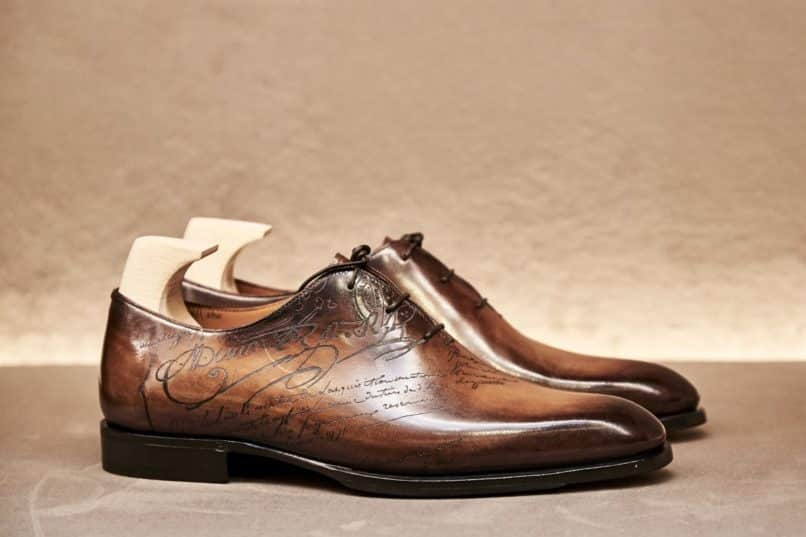 The Berluti Alessandro leather shoes