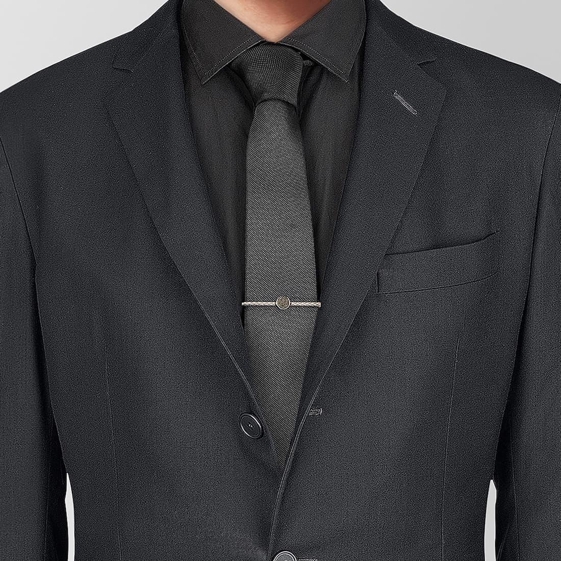 Pair Jewellery with a Suit: Bottega Veneta