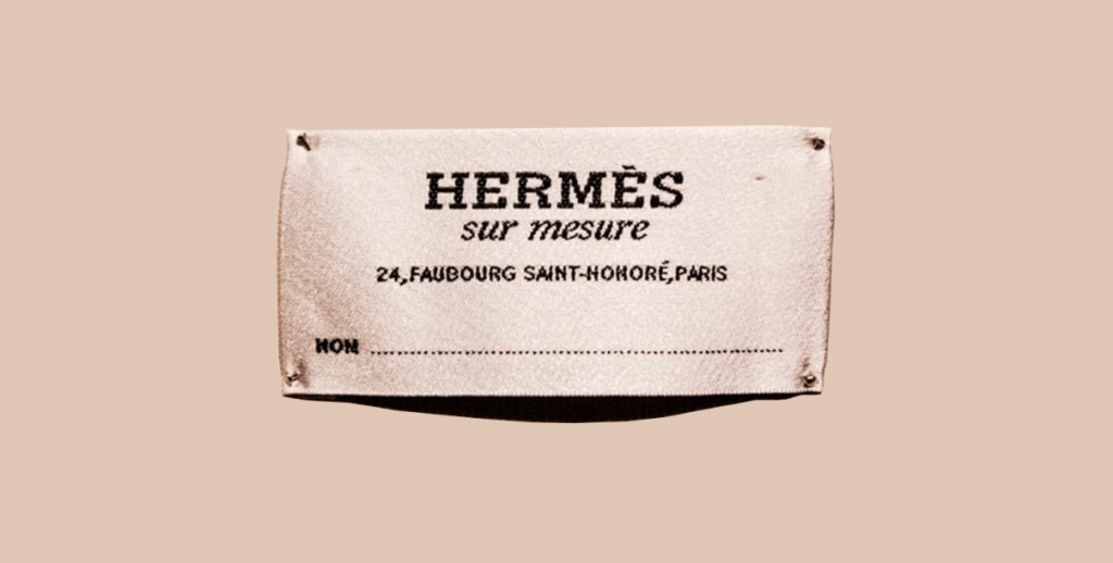 Hermes Sur Measure, the personalized collection