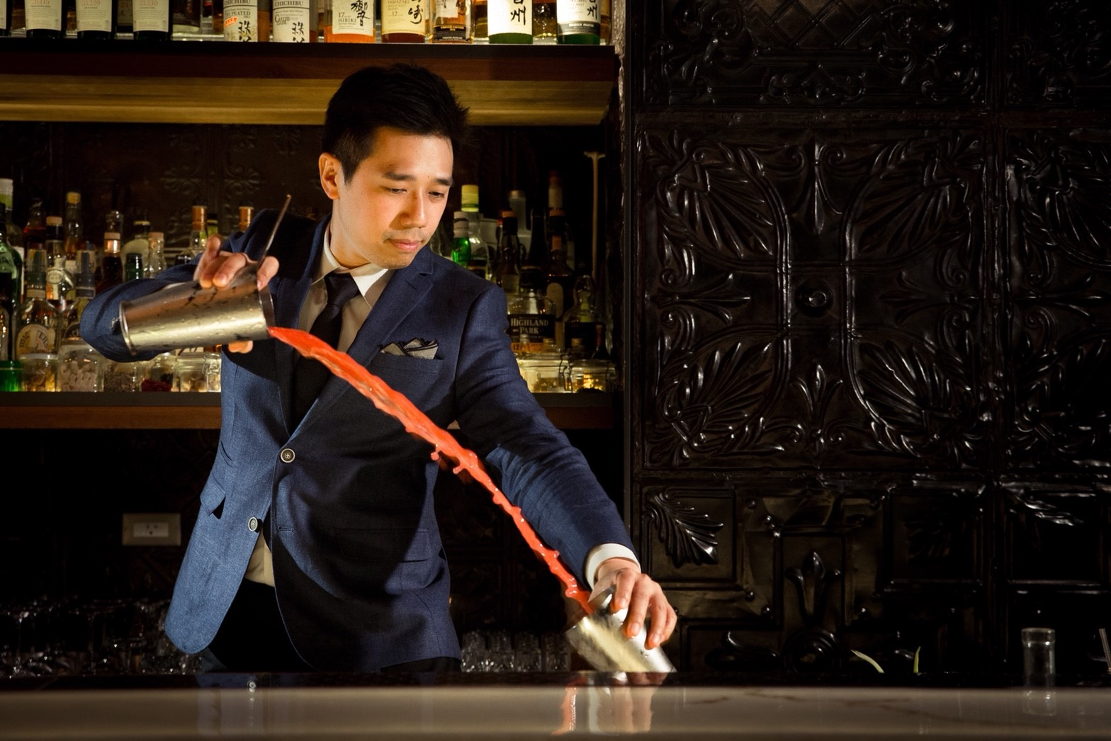 Recreate these Asian-inspired Johnnie Walker Blue Label cocktails at home