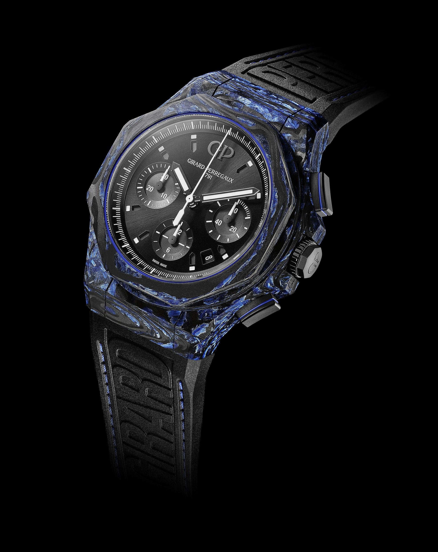 Girard-Perregaux Laureato Absolute Carbon Glass Chronograph