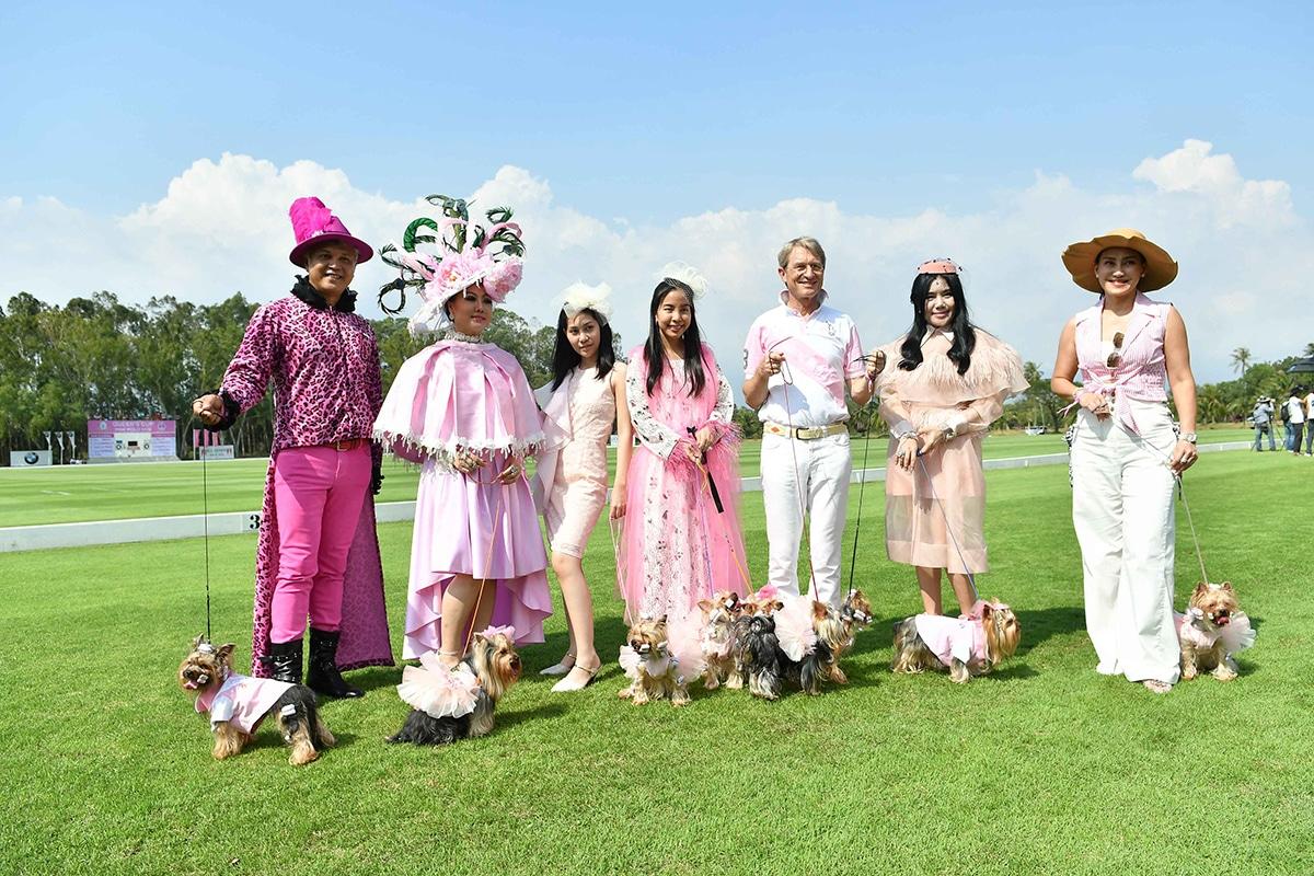 Fancy Dog fashion show by Yorkshire Terrier Club Thailand, led by Khun Perfume, the pet owned by Her Royal Highness Princess Sirivannavari Nariratana