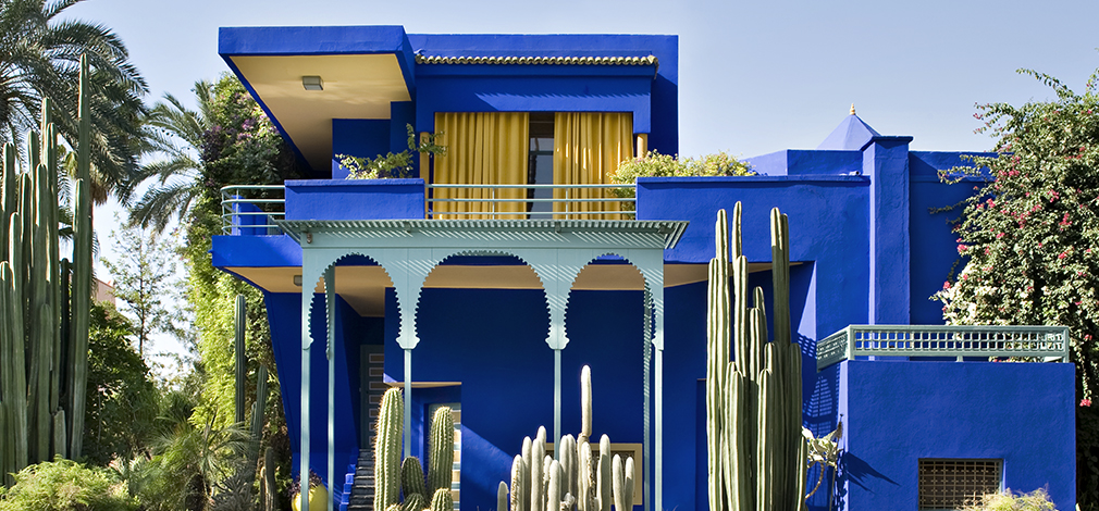 The Jardin Majorelle, plus 6 other fashion designers' homes you can visit