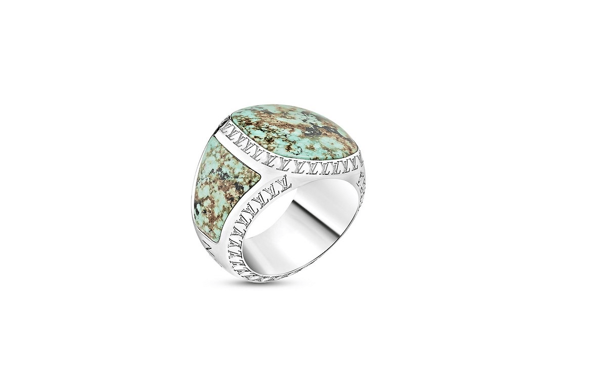 LV Turquoise Ring by Louis Vuitton
