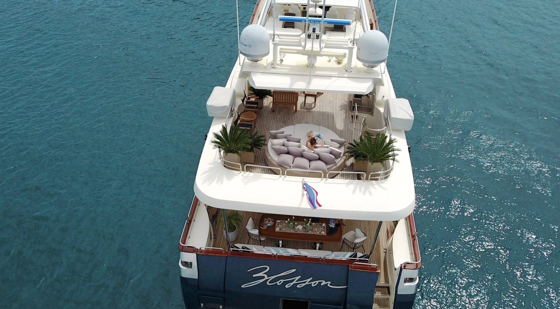 Yacht trips from your private beach front: Villa Viva Panwa