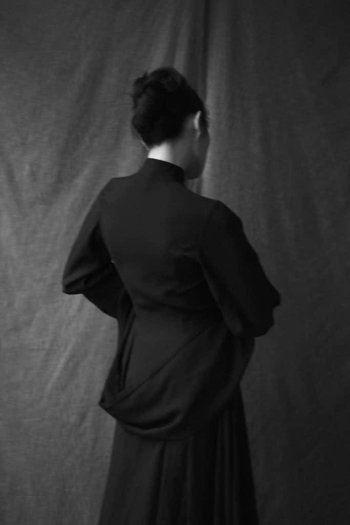 Max.Tan nun dress, fall winter 2010