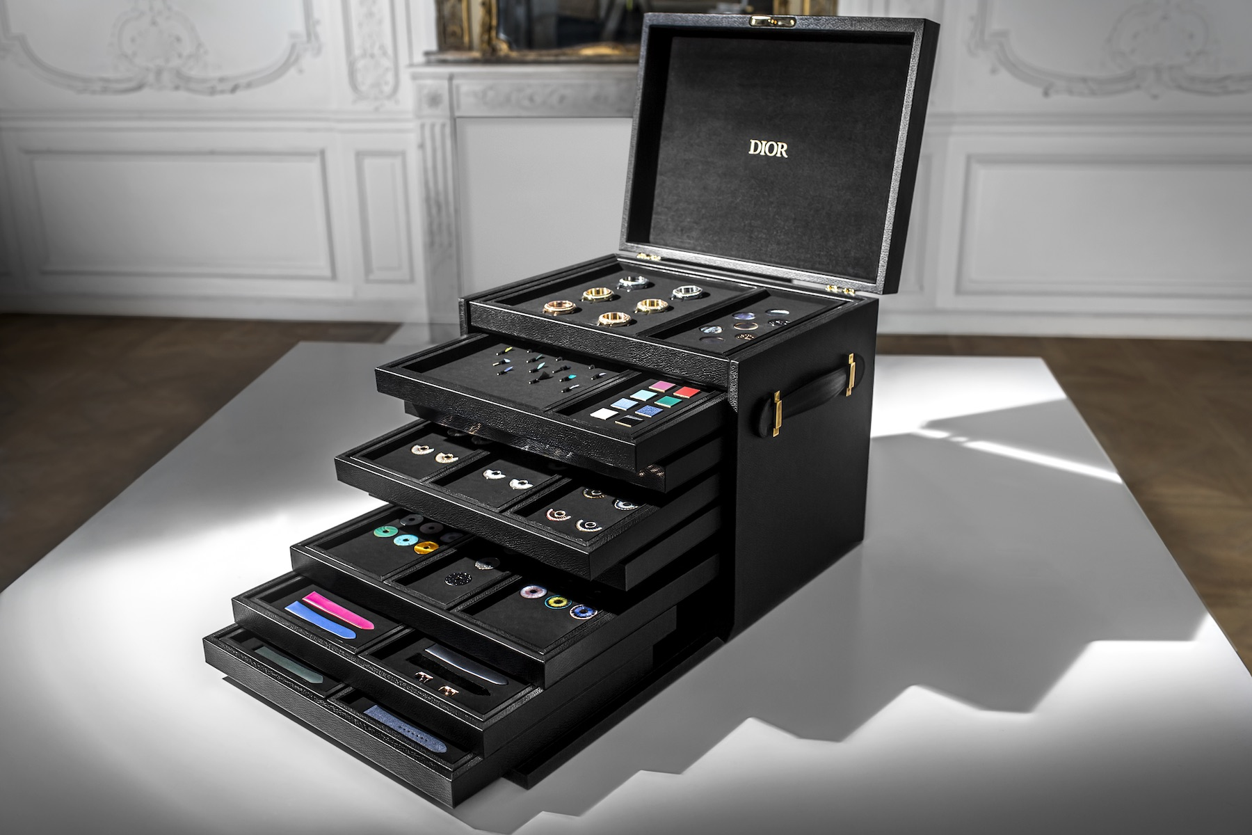 """Dior's """"created-to-measure"""" service for its Grand Bal timepiece has over 200 million possibilities"""