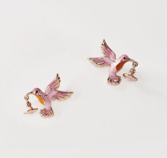 Stud Earrings: Vivienne Westwood