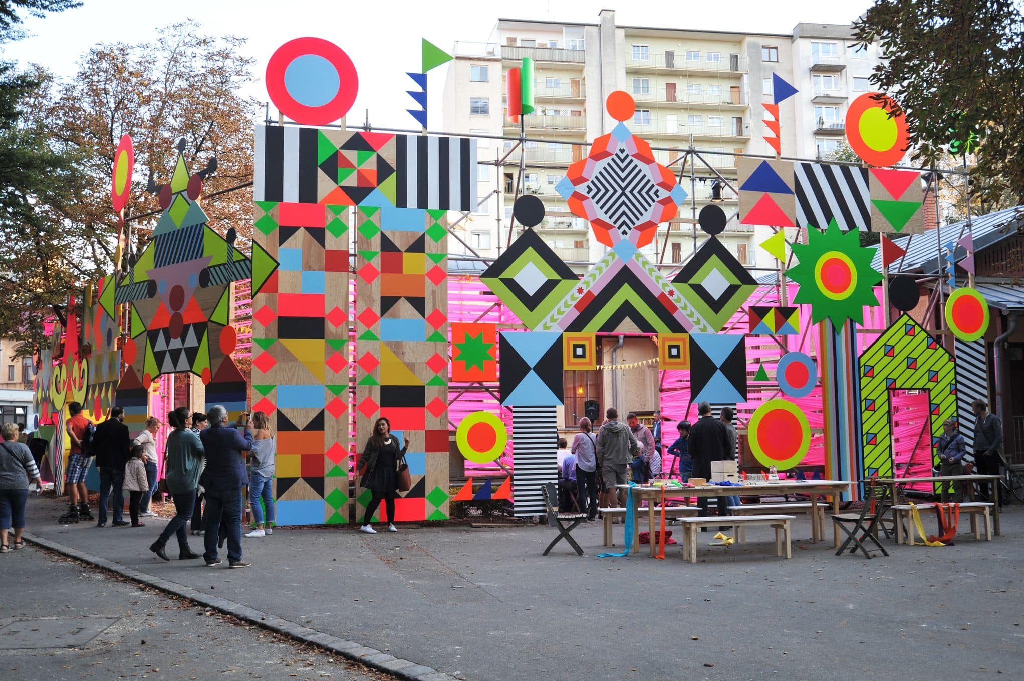 Bright, bold, beautiful: Morag Myerscough on exploring design without limits