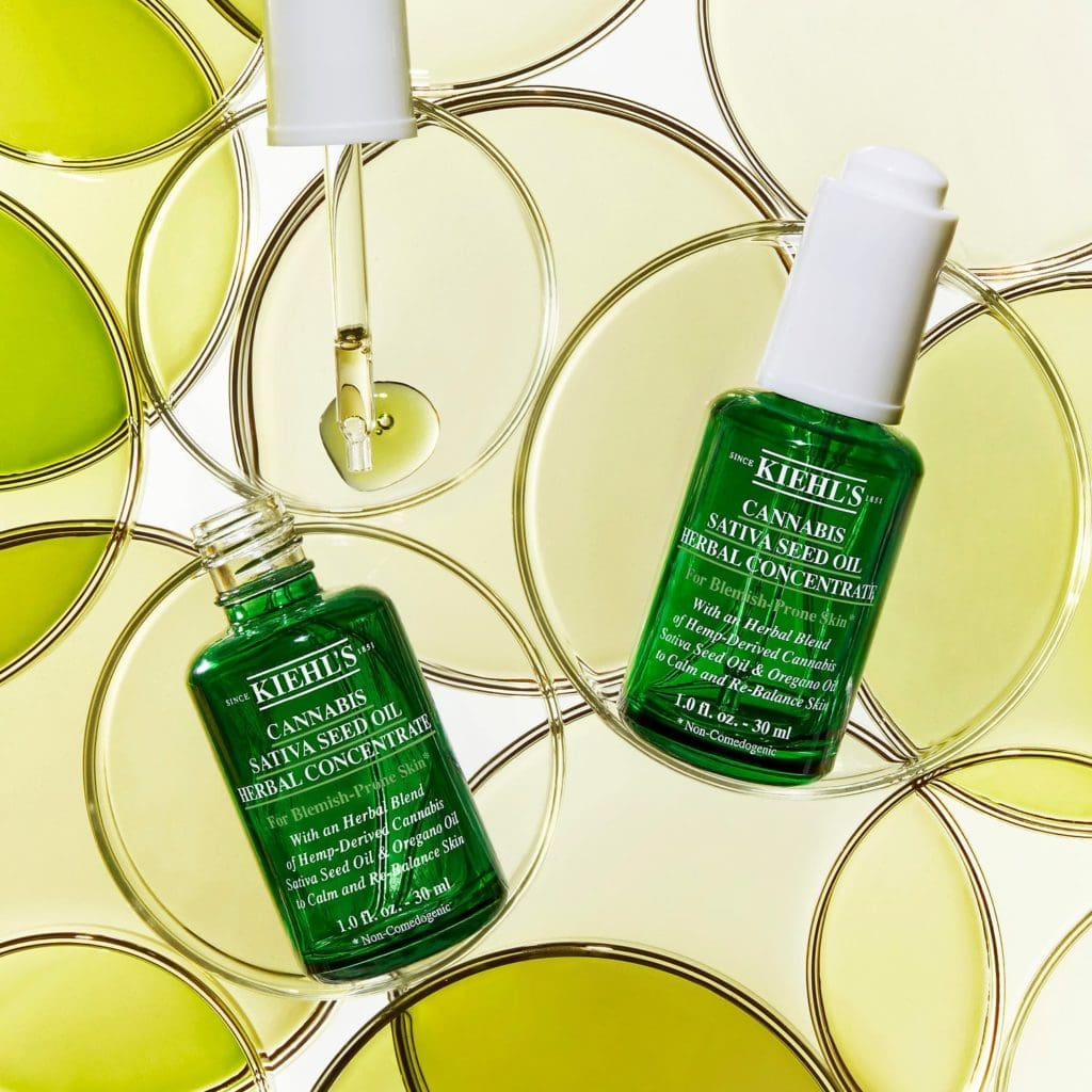 Kiehl's Since 1851Cannabis Sativa Seed Oil Herbal Concentrate