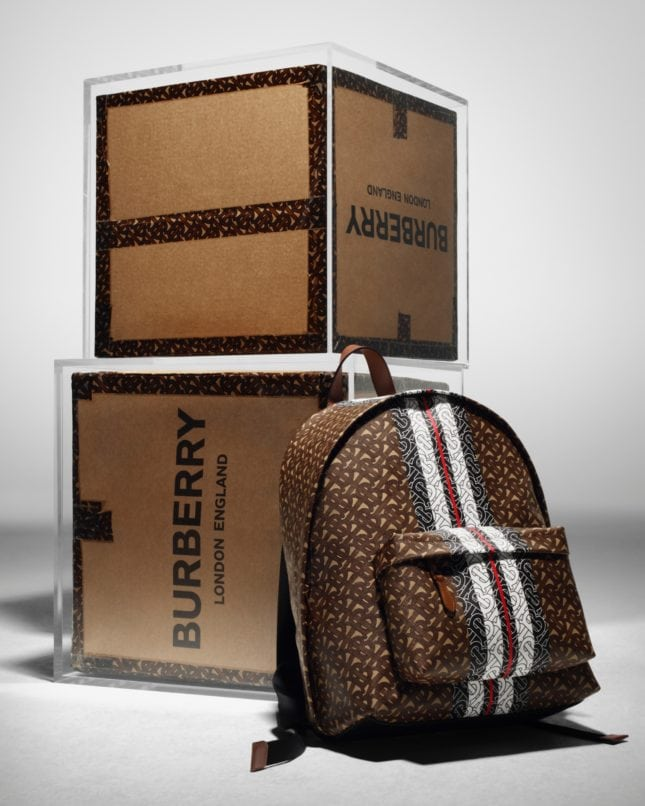 The Burberry Monogram Collection