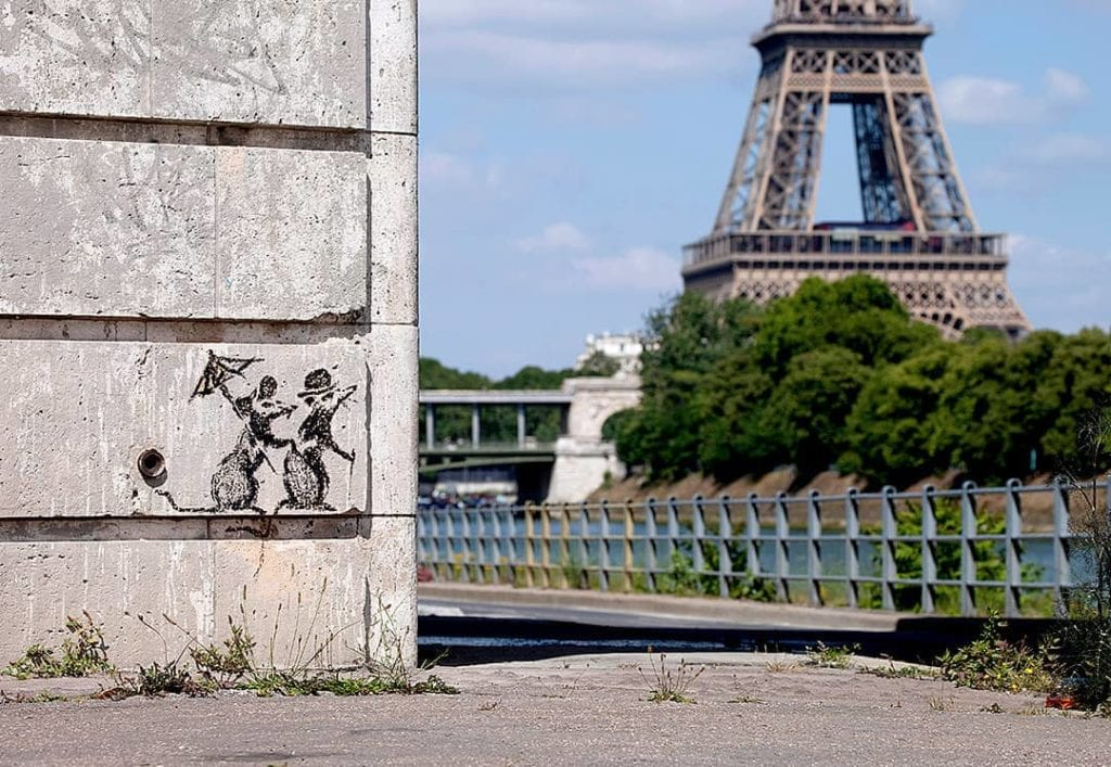 Here's where to find Banksy's work in Europe