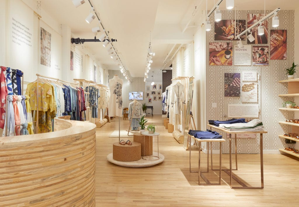 Anita Dongre's New York store. Image: Courtesy Anita Dongre