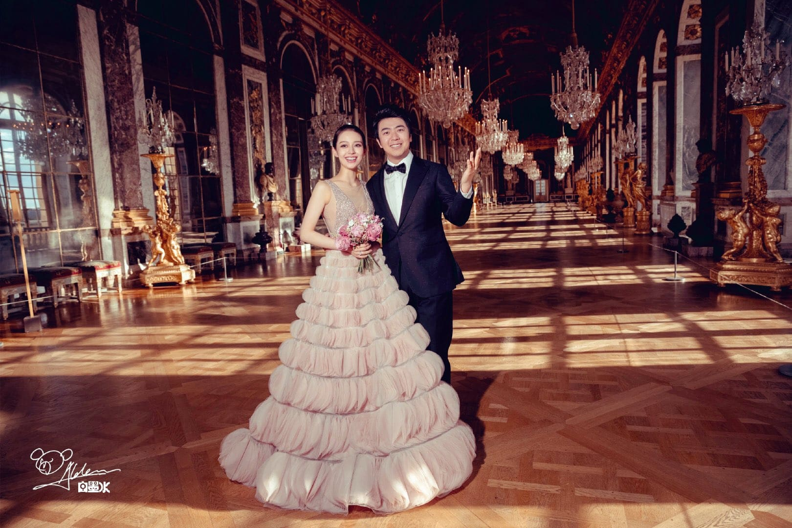 Chinese pianist Lang Lang marries fellow pianist Gina Alice Redlinger