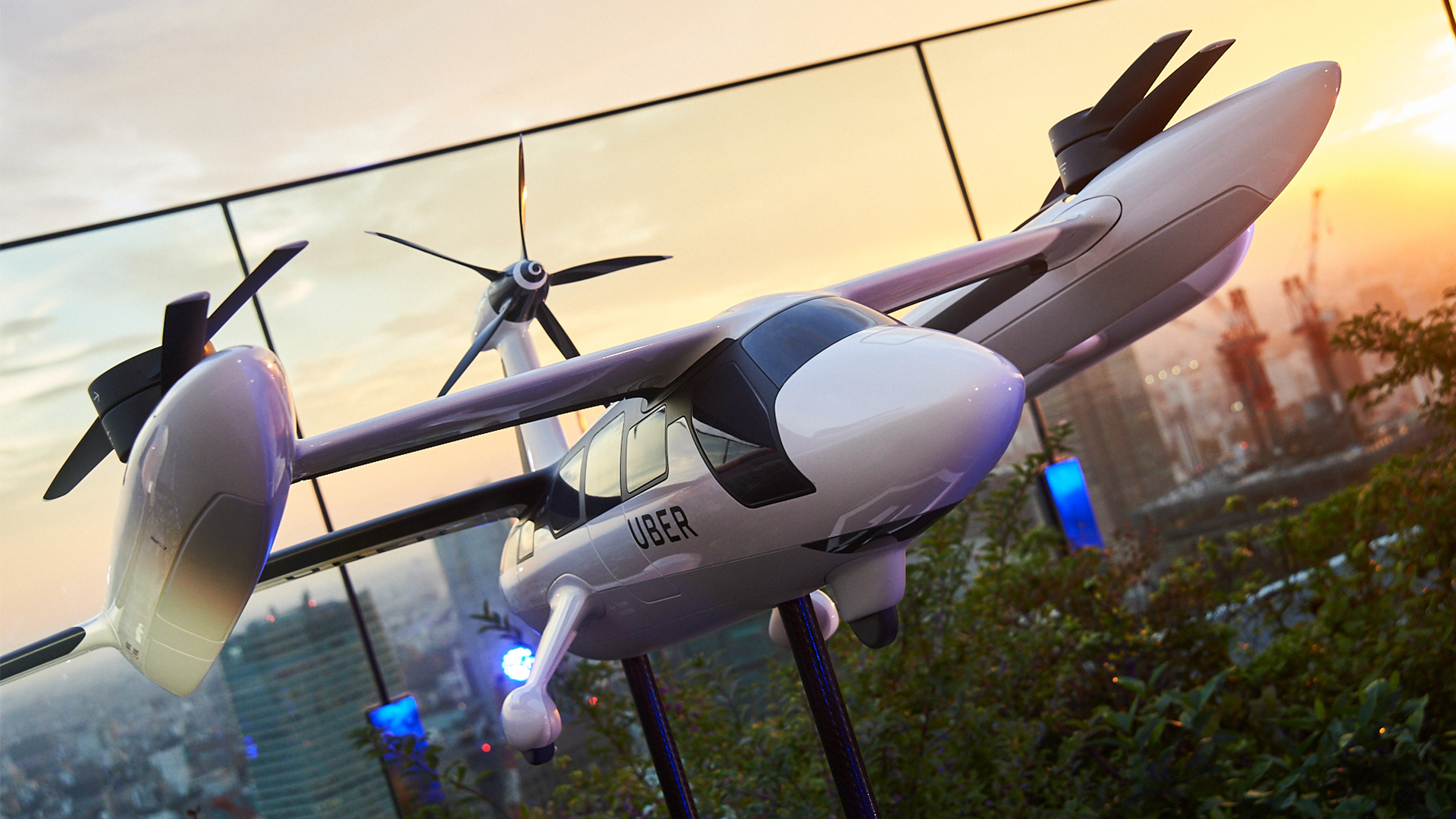 Uber Elevate - Flying Taxis