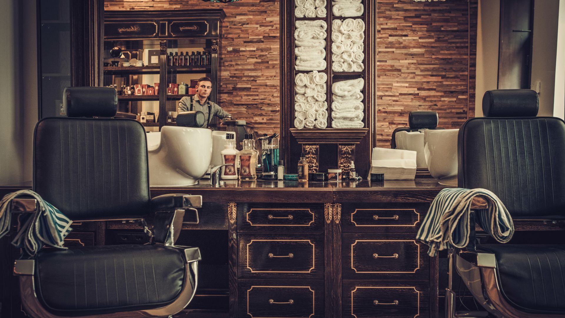 Grooming means more than a haircut today and here are 5 men's salons to prove it