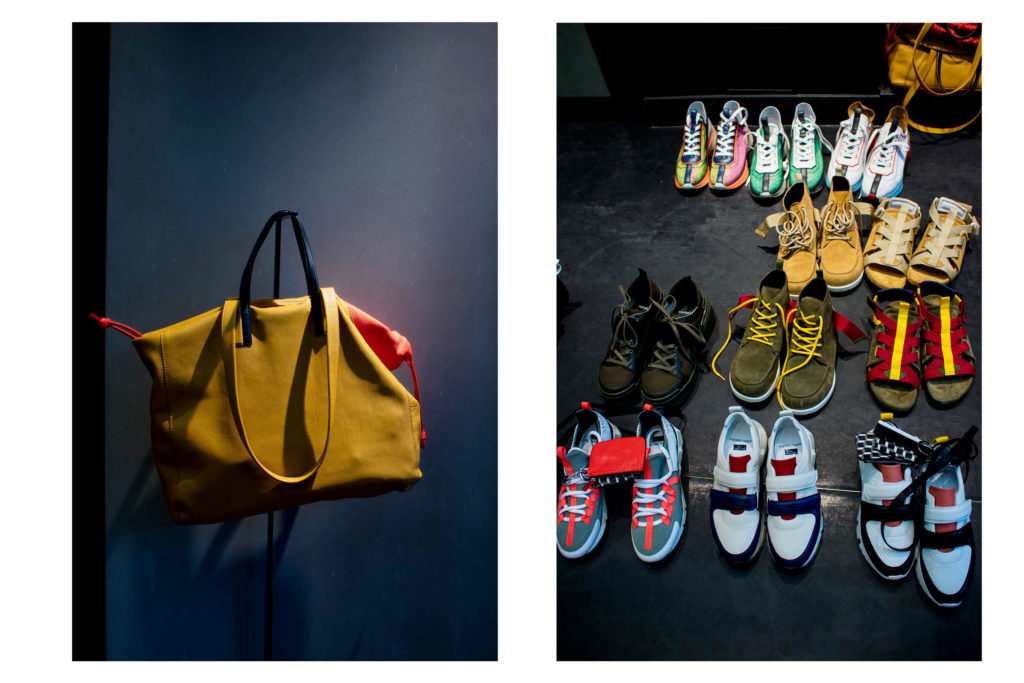 Pierre Hardy unveils bold new SS20 footwear collection during PFW / Photography by Tawfik Akachar