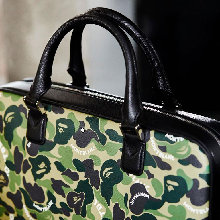 Montblanc goes the extra mile with its accessories alongside Bape