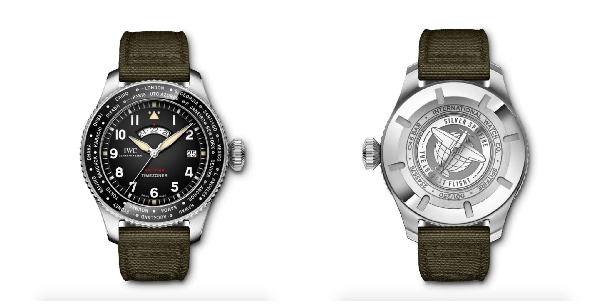 IWC Pilot's Watch Timezoner Spitfire Edition
