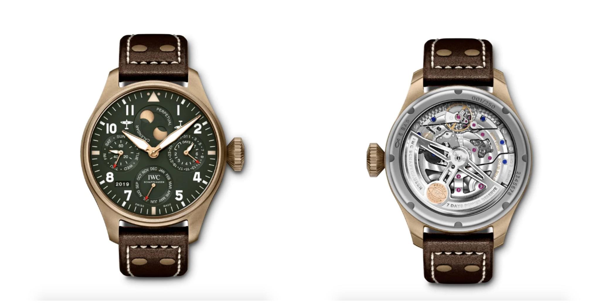 IWC Pilot's Watch Spitfire Perpetual Calendar