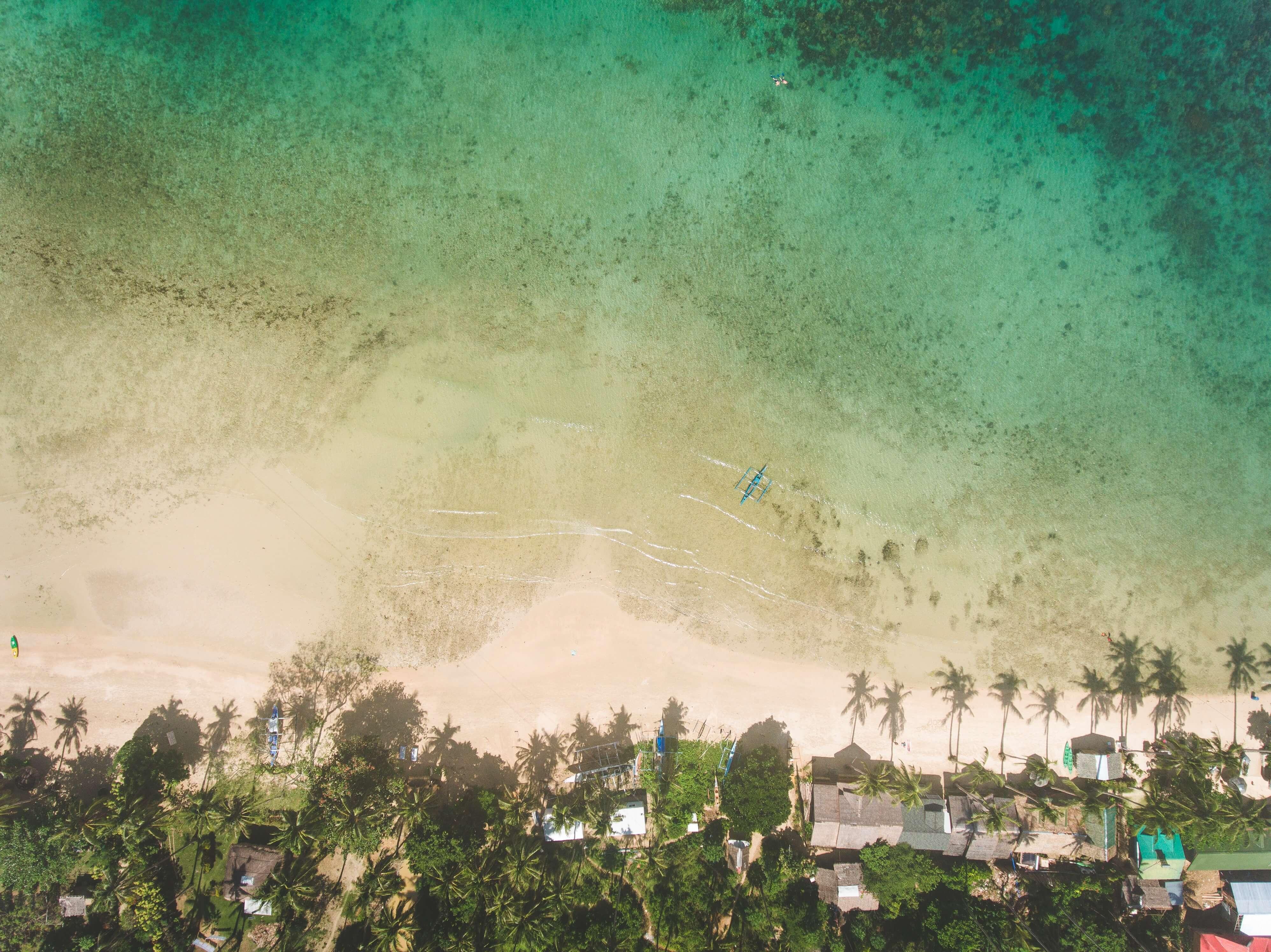 Nagtabon Beach, Palawan Island