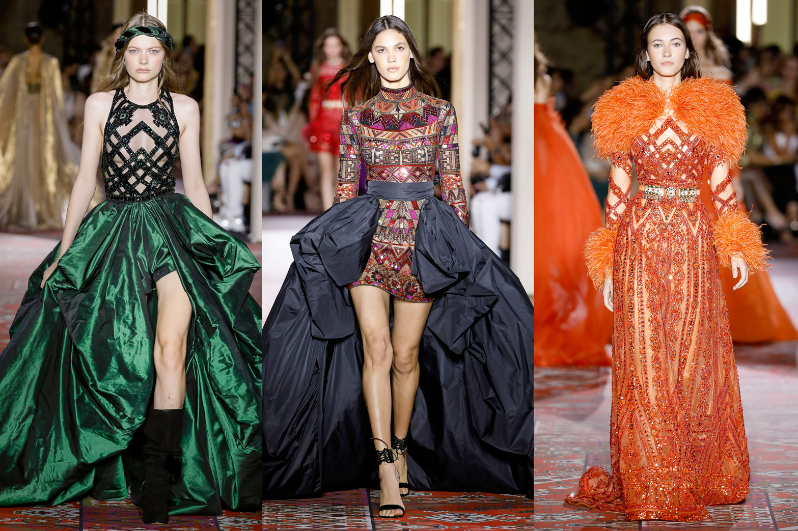 Zuhair Murad's FW19 Haute Couture collection