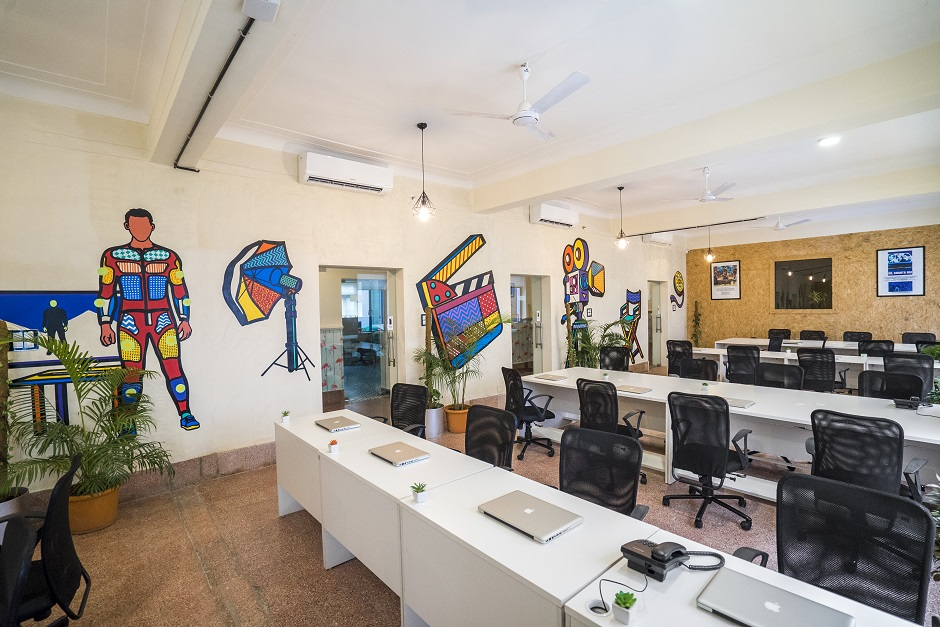 This Mumbai landmark is now a cool new co-working space and we're ecstatic