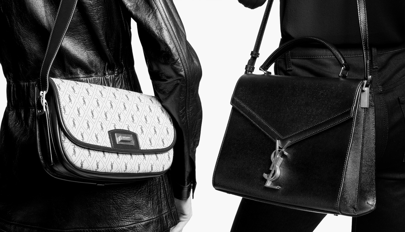 Saint Laurent's Fall 2019 handbags effortlessly blend heritage with style