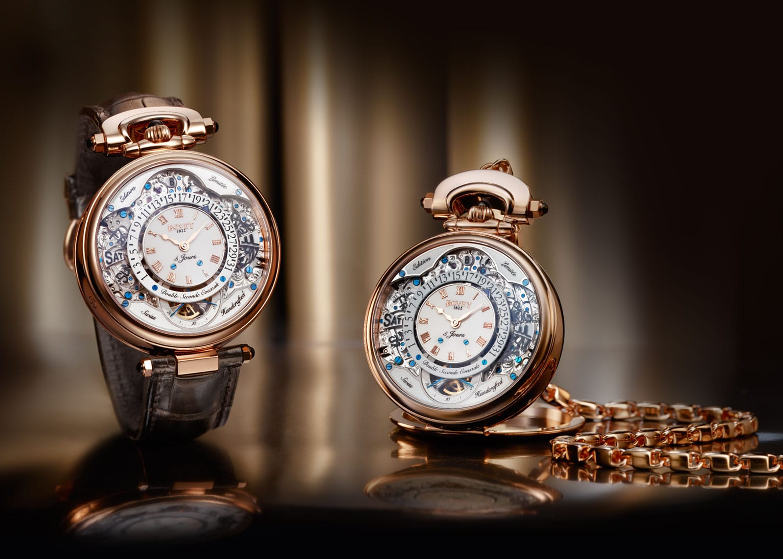 Turn back time with these luxury pocket watches